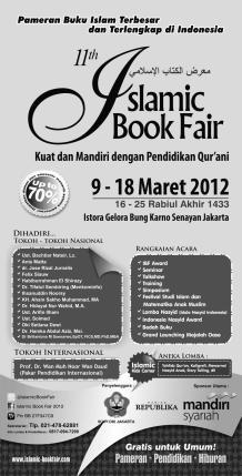 Islamic Book Fair 2012